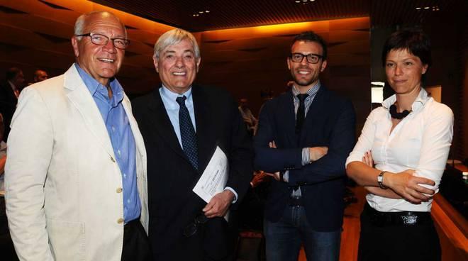 Pierino Persico, Giancarlo Losma, Marco Manzoni e Alessandra Persico