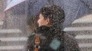 Pioggia e temporali fino a domenica
