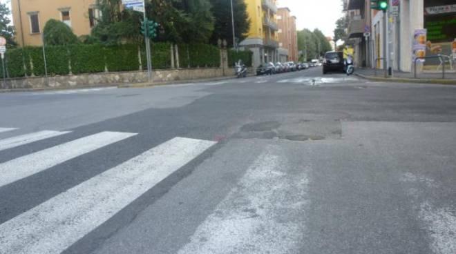 Pronto soccorso buche in 90 minuti a Bergamo