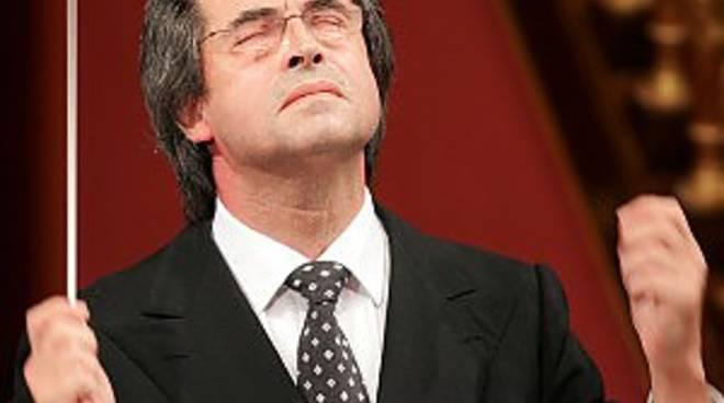 Riccardo Muti mercoledì sera a Bergamo