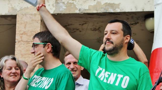 Salvini a Trento