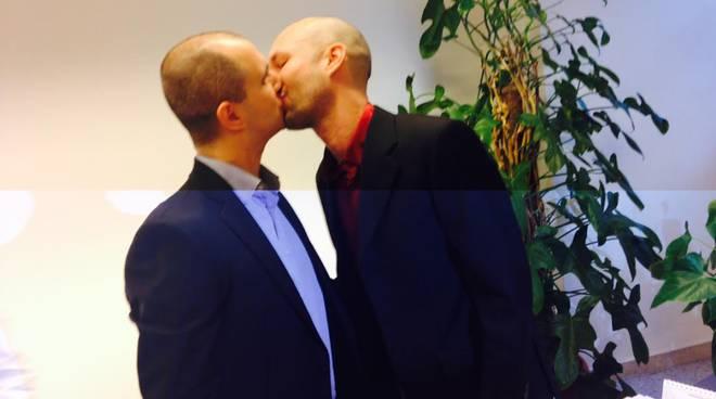Stefano Macetti e Fiodor Ardizzoia, prima coppia omosessuale iscritta al registro di Bergamo