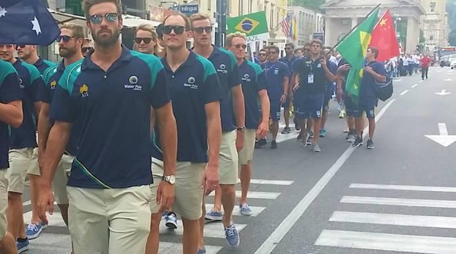 Bergamo, la sfilata di lunedì 22 giugno