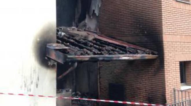 La comunità di Fiobbio incendiata domenica