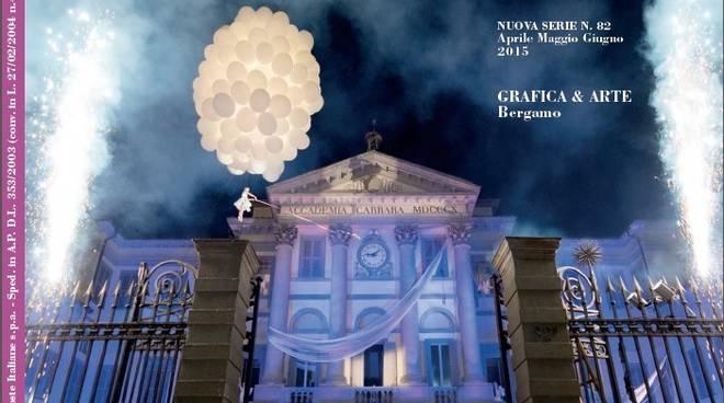 La copertina del numero speciale de La rivista di Bergamo.