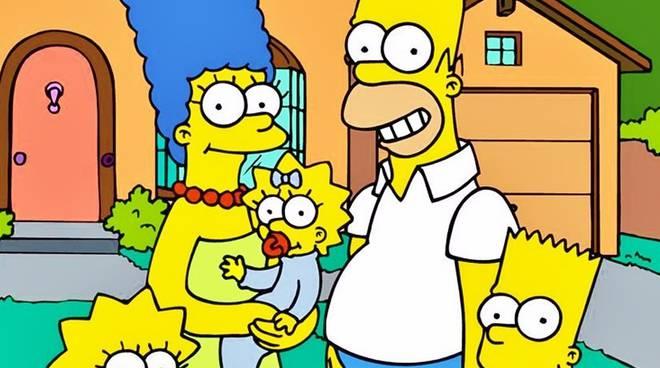 La famiglia Simpson al gran completo
