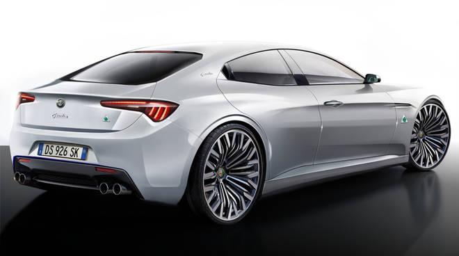 La Giulia Alfa Romeo