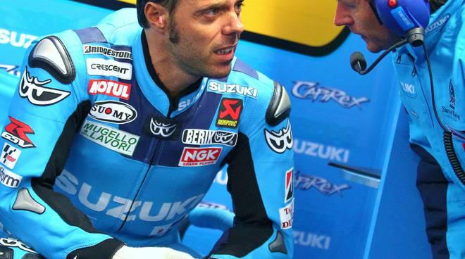 Loris Capirossi mercoledì 3 giugno a Bergamo