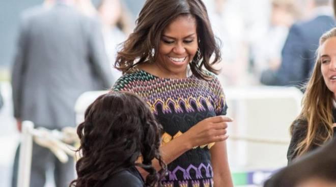 Michelle Obama all'Expo