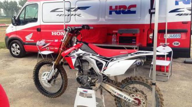 Team Honda Hrc al Mondiale motocross