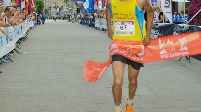 Tyar Abdelhadi taglia il traguardo (Foto Ghisalberti)