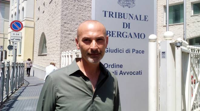 Fabrizio Sala in tribunale