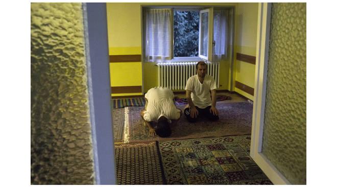 I migranti in preghiera