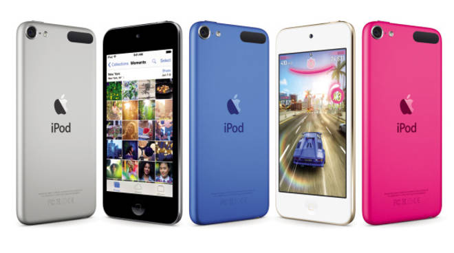 I nuovi iPod Touch (foto Apple)