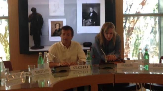 Il sindaco Gori all'Expo
