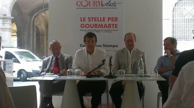 La presentazione Gourmarte speciale per Expo