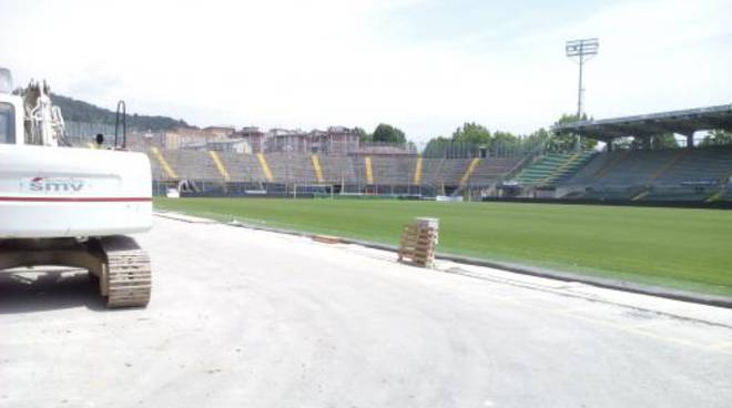 Lavori dello stadio