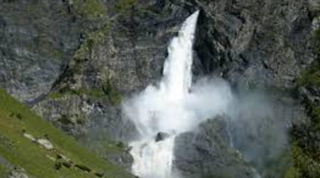 Le cascate del Serio a Valbondione: sabato la notte magica