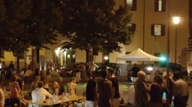 Piazza Locatelli sabato 11 luglio a Gorlago