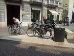 Rastrelliera per bici cercasi in centro città