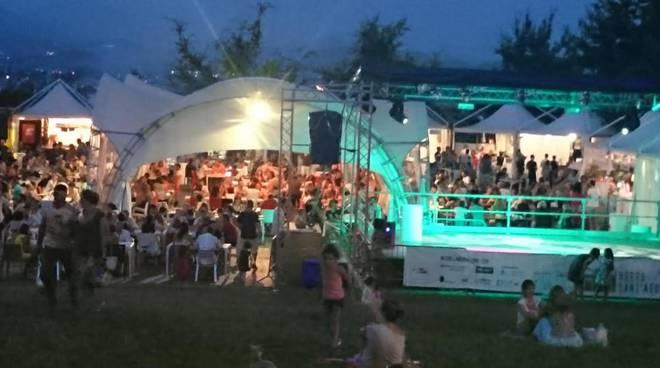 Sant'Agostino una sera di questa calda estate 2015