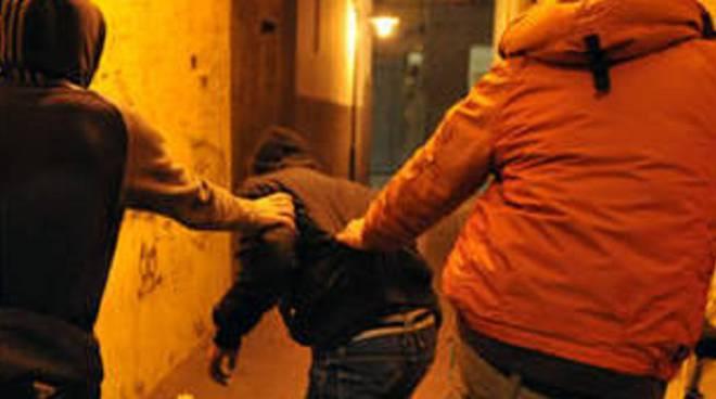 Aggressione in villa a Bonate Sotto