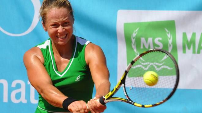 Anastasya Grymalska, abruzzese nata a Kiev nel 1990, ha raggiunto la finale nell'edizione 2014
