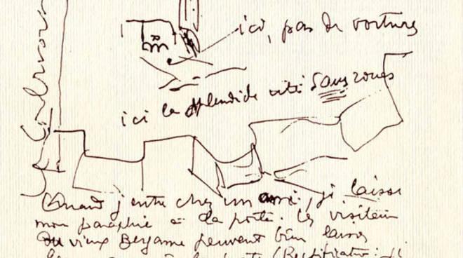 Cartolina di Le Corbusier