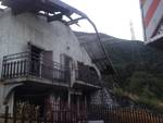 Casazza, incendio distrugge una villa