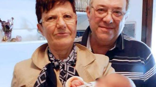 Franco Seramondi e la moglie Giovanna Ferrari