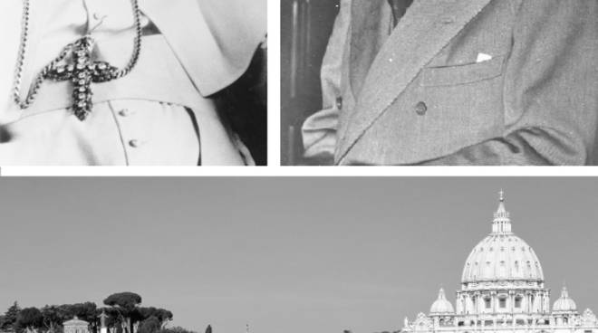 Giovanni XXIII e Alcide De Gasperi