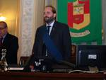 Il presidente Matteo Rossi