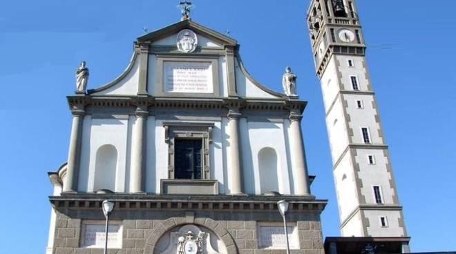 La chiesa parrocchiale di Sotto il Monte