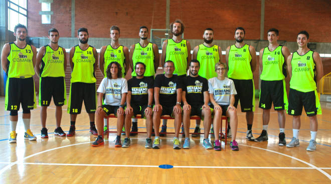 La Co.Mark Bergamo Basket 2015/2016