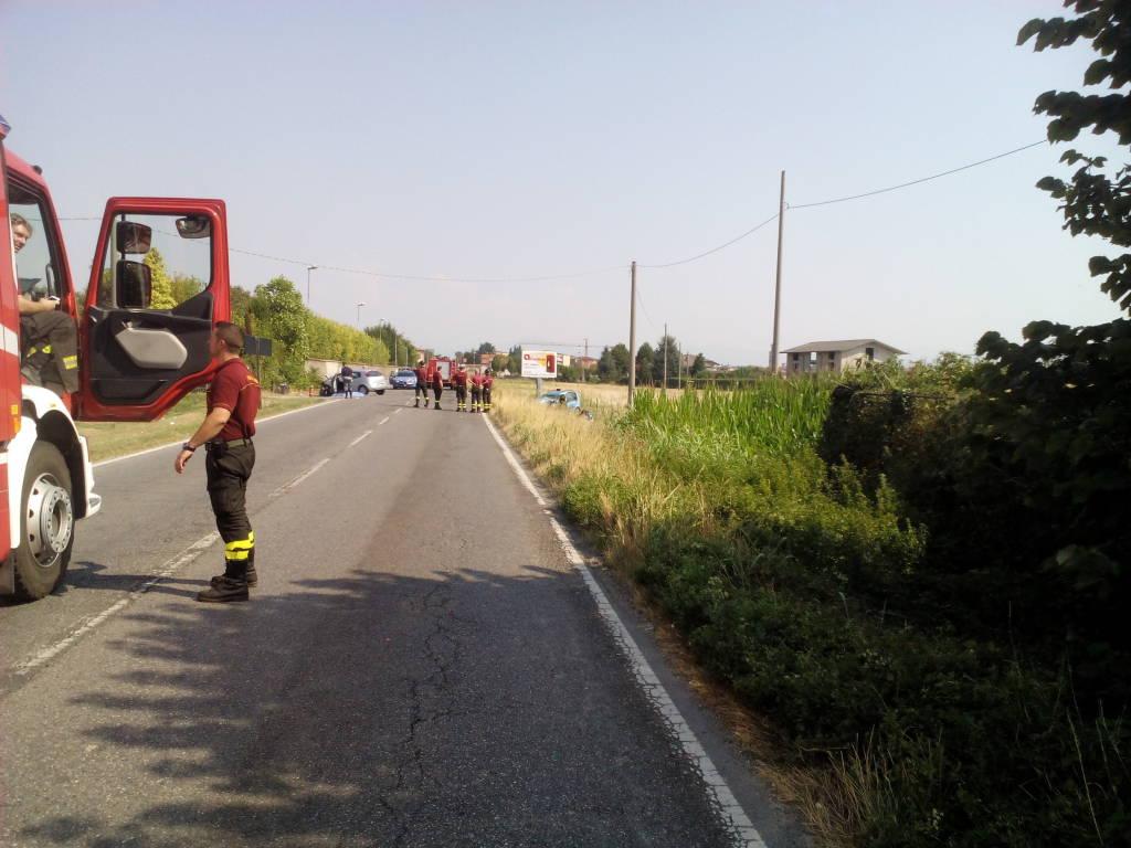 Muore donna di Treviolo in un incidente a Martinengo