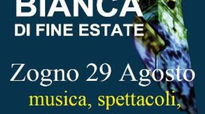 """Notte bianca di fine estate"" a Zogno"