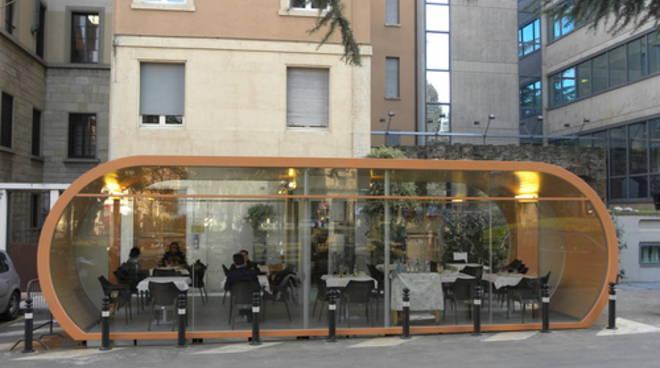 Più semplice allestire un dehors a Bergamo