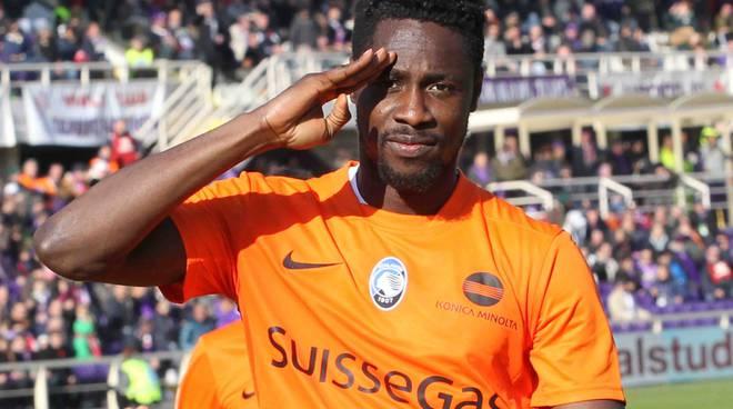 Richmond Boakye saluta l'Atalanta