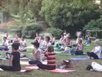 Yoga al parco Caprotti