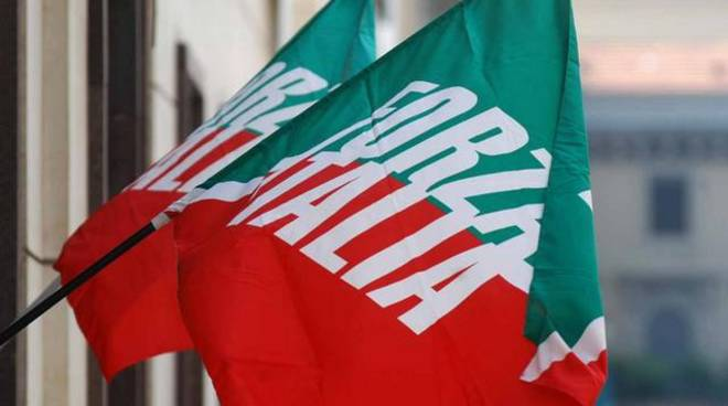 Bandiere Forza Italia