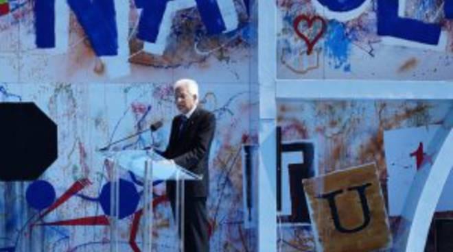 Il presidente Mattarella a Napoli