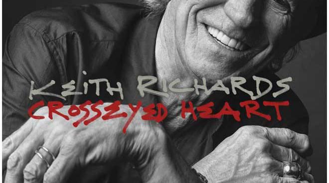 "Keith Richards ""Crosseyed Heart"""