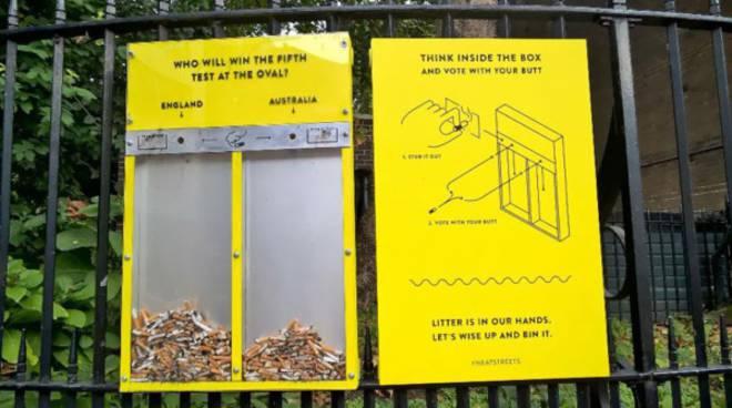 La campagna londinese per le strade pulite