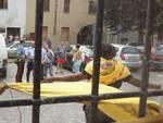 Lo sfratto in via Trieste a Covo