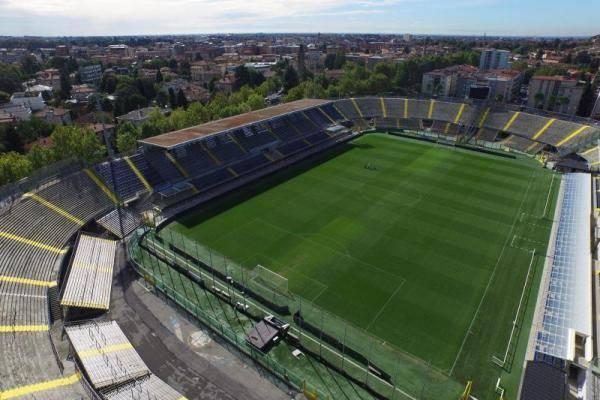 Lo stadio ristrutturato