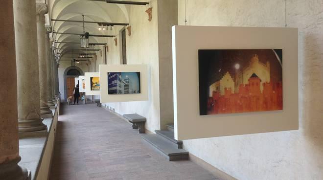 Mostra di Davide Tranchina al Chiostro di Santa Marta