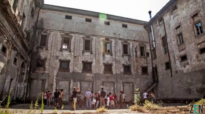 Ora d'aria all'ex carcere di Sant'Agata