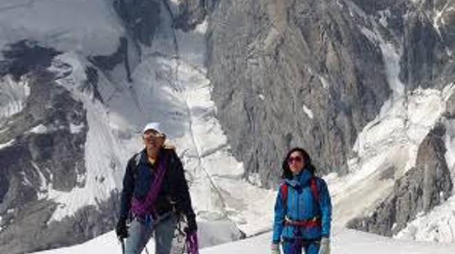 Simone Moro e Caterina Balivo