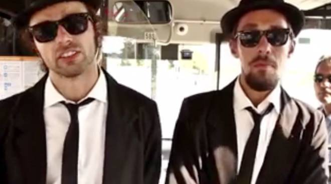"""The Bus Brothers"" sui pullman di Atb"