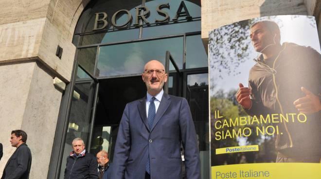 Francesco Caio, ad di Poste Italiane